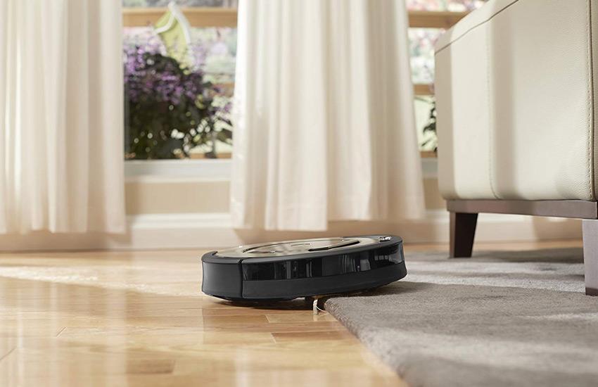 جارو برقی رباتیک با قابلیت جاروکشی فرش