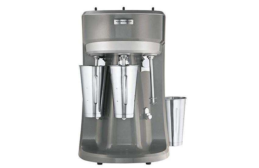دستگاه میلک شیکر - میلک شیکر دارای سه لیوان برای مصارف تجاری