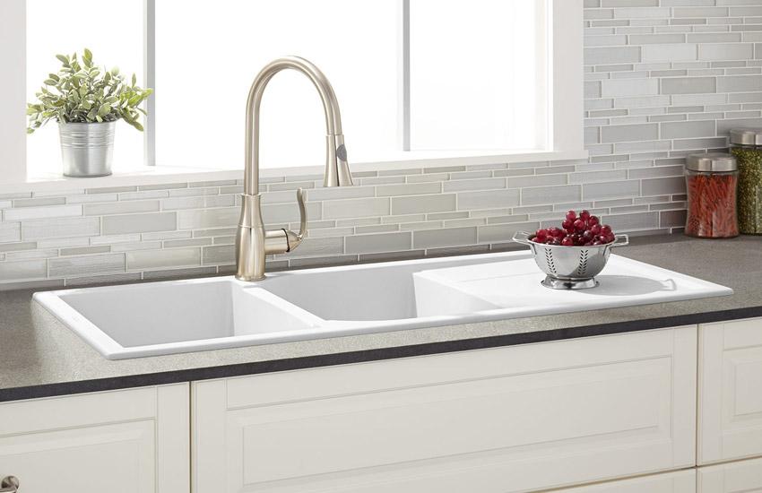 انواع سینک ظرفشویی آشپزخانه