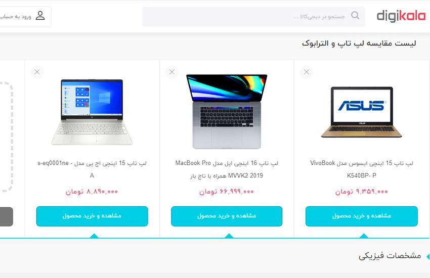 بهترین وبسایت خرید لپ تاپ