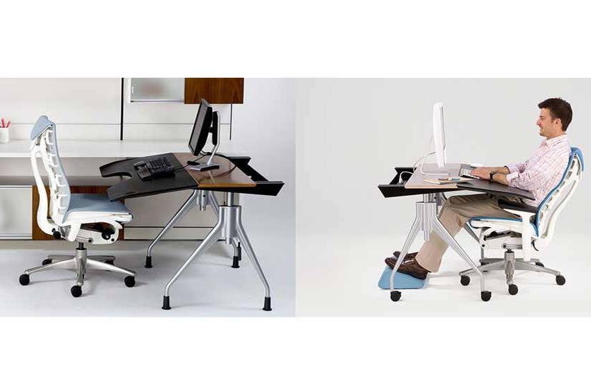 میز و صندلی کامپیوتر، ارگونومی
