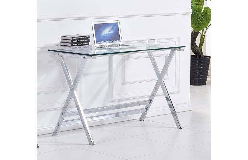 میز و صندلی کامپیوتر، شیشهای