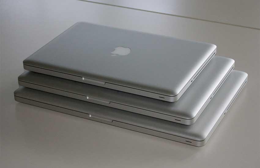 سایز لپ تاپ